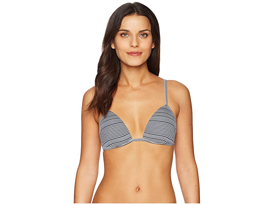 Heidi Klein Cote Sauvage Push-Up Top (Nautical) Women