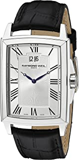 ساعة يد ريموند ويل كاجوال للرجال انالوج بعقارب جلد - 5596-STC-00650