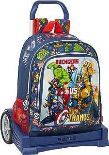 Mochila 522 Espalda Ergonómica con Carro Evolution de Avengers Heroes Vs Thanos, 320x140x420mm, azul marino/multicolor, m (M860C)