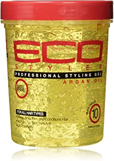ECOCO Styling Gel With Argan Oil, 32 oz, Pack Of 2