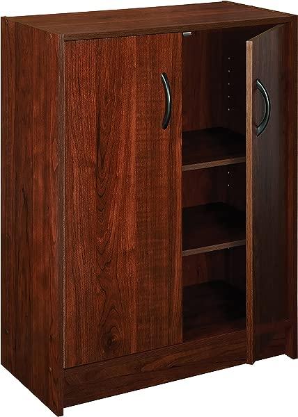 ClosetMaid 1307 Stackable 2 Door Organizer Dark Cherry