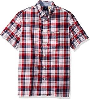 Men's Adaptive Magnetic Short Sleeve Button Shirt Slim Fit