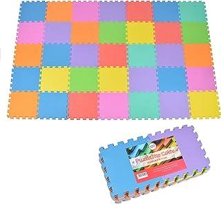 comprar comparacion Puzzlestar Color, colchoneta para niños de 36 Piezas, colchoneta Antideslizante EVA - colchoneta Grande de 30x30x1cm Cada ...