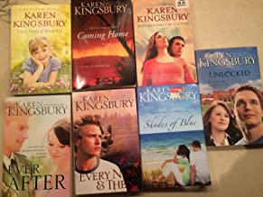 Karen Kingsbury, 7-Book Collection of Her Stand Alone Titles: This Side of Heaven / Like Dandelion Dust / Where Yesterday Lives / Coming Home / Unlocked / The Chance / Shades of Blue