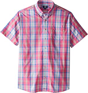 Cutter & Buck Men's Big-Tall Bradford Plaid