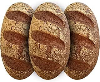 Yez! Artisan Keto Bread - Certified Keto, Paleo, Vegan - Low carb, Gluten free, Wheat free, Grain free, Soy free, Preservatives free, All Natural, Clean Ketogenenic Food (small loaf - 10 oz each)