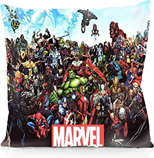 Rechzng Li Avengers Heroes Square Pillowcase Both Sides Print Zipper Pillow Covers 18x18 Inches