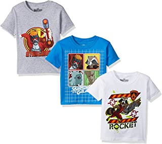 Marvel Little Boys' Guardians of the Galaxy 3-Pack Short Sleeve T-Shirt