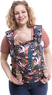 : Boba X - Portabebés, mochila adaptable, microajustable, estructurada suave para bebés de 3-20 kg Paraíso bohemio