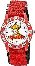 Disney Kids' W002132 The Lion King Analog Display Analog Quartz Red Watch
