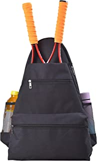 ZFZGFRCS Tennis Racket Backpack, Tennis Equipment Backpack Bag, Tennis & Racquet Sports Bag, Tennis Racket Bag for Women and Men to Hold Tennis Racket,Tennis and Other Accessories.