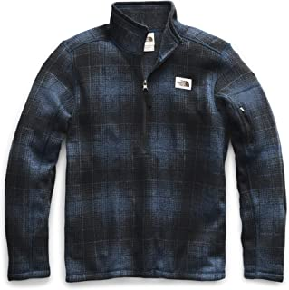 mens plaid north face jacket