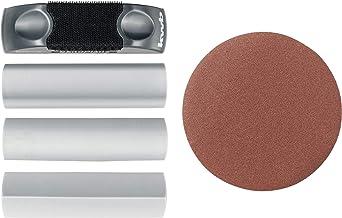 kwb 483800 handschuurblok voor 125 mm incl. versch. profielopzetstukken en slijpschijf