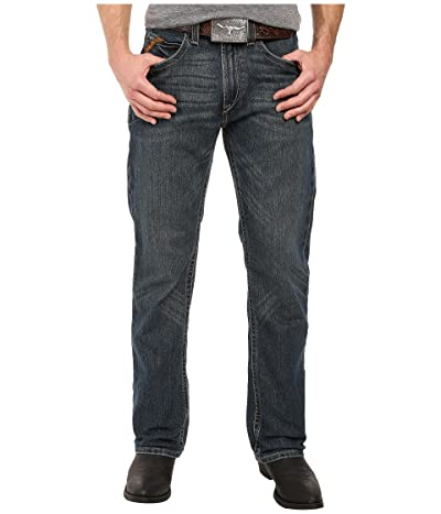 Ariat Rebar M5 Slim Straight Leg Jeans in Ironside (Ironside) Men
