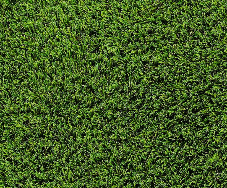 - 4,00 m x 2,00 m Florh/öhe 35 mm UV-Garantie 12 Jahre DIN 53387 Kunstrasen Rasenteppich Palermo f/ür Garten Rollrasen 2889 g//m/² Gewicht ca Kunststoffrasen