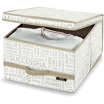 Domopack Living - Caja organizadora Urban Gold: Amazon.es: Hogar