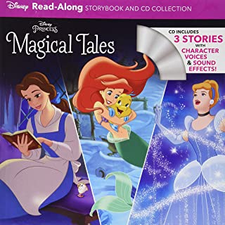 Disney Princess Magical Tales Read-Along Storybook and CD Collection