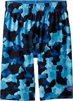 Speedo Kids - Geo Camo Volley (Little Kids/Big Kids)