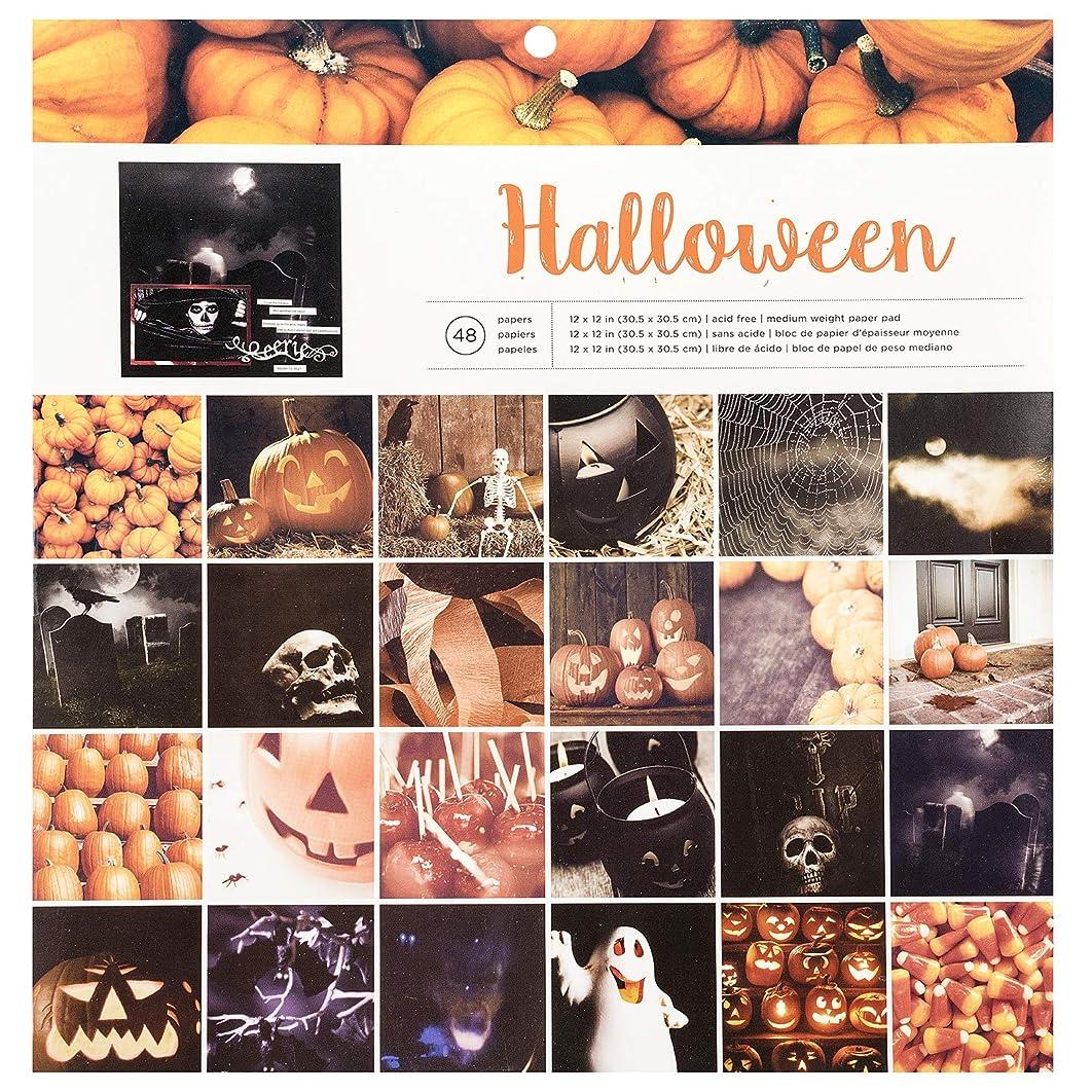 American Crafts 348714 Halloween Paper Pad, Multi