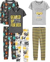 Fiream Boys Cotton Pajamas Sets 2 Piece Cartoon Toddler Sleepwears 18029,5-6YRS