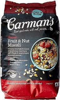 Carman's Muesli Toasted Classic Fruit and Nut 1.5kg