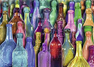 Ravensburger - Aimee Stewart - Colorful Bottles Puzzle 1000 Piece Jigsaw Puzzle for Adults – Every Piece is Unique, Softclick Technology Means Pieces Fit Together Perfectly