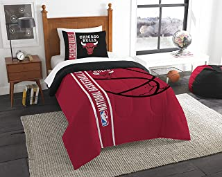 "Officially Licensed NBA ""Reverse Slam"" Comforter and Sham Set, Multi Color, Multiple Sizes"