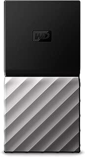 WD 2TB My Passport SSD External Portable Drive, USB 3.1, Up to 540 MB/s - WDBKVX0020PSL-WESN