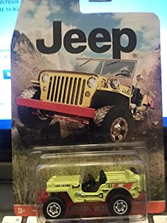 Matchbox Jeep '43 Jeep Willys Green