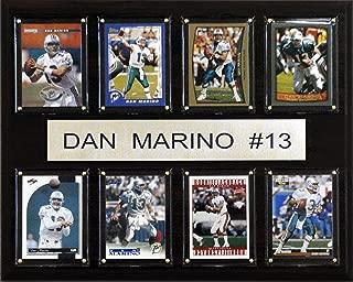 NFL Dan Marino Miami Dolphins 8 Card Plaque