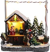 "Christmas Concepts® LED Light Up Christmas Market Scene - 5"" / 13cm Christmas Tree Stand"
