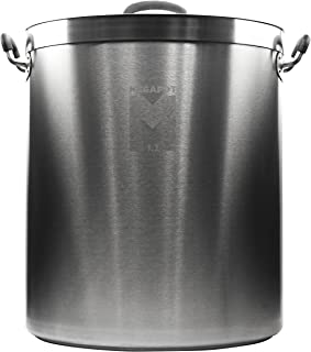 Northern Brewer - Megapot 1.2 Stainless Steel Brew Kettle with Volume Markings (20 Gallon Plain)