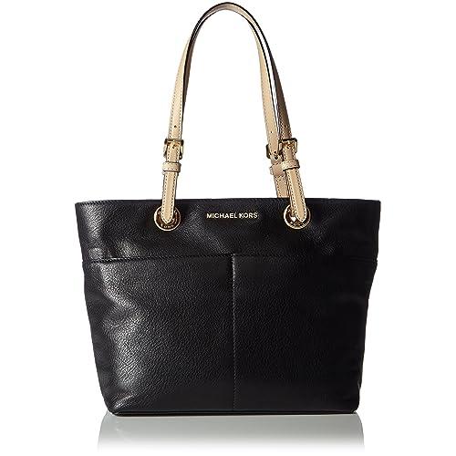 Michael Kors Womens Bedford Top Zip Pocket Tote Bag