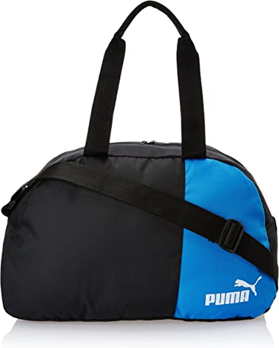 Black and Team Power Blue Polyester Messenger Bag 7291002