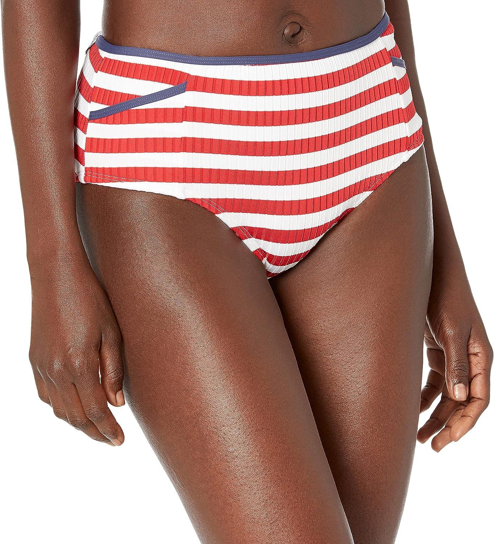 Body Glove Women's Standard Retro-inspried Bikini Bottom Swimsuit