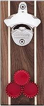 DropCatch Magnetic Wall Mounted Bottle Opener & Cap Catcher - 40 Caps (Pilsner)