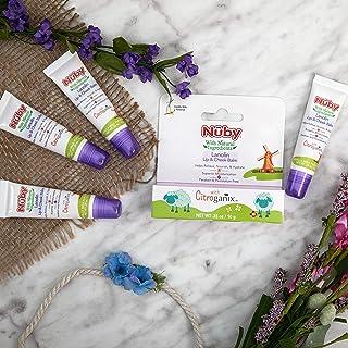 Nuby Natural Lanolin Lip & Cheek Balm for Baby, Vanilla Milk flavor, 4 Pack