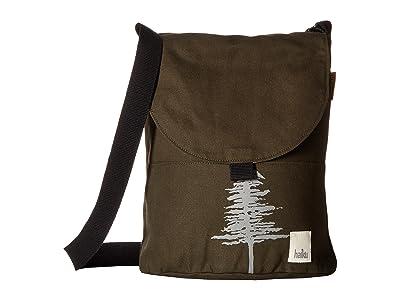 Haiku Wonderland Crossbody (Pine) Cross Body Handbags