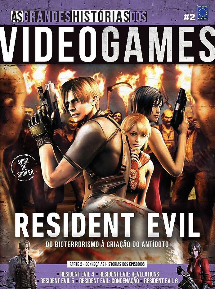 オリエントバーガー滅多As Grandes Histórias dos Videogames. Resident Evil. Parte 2 (Portuguese Edition)