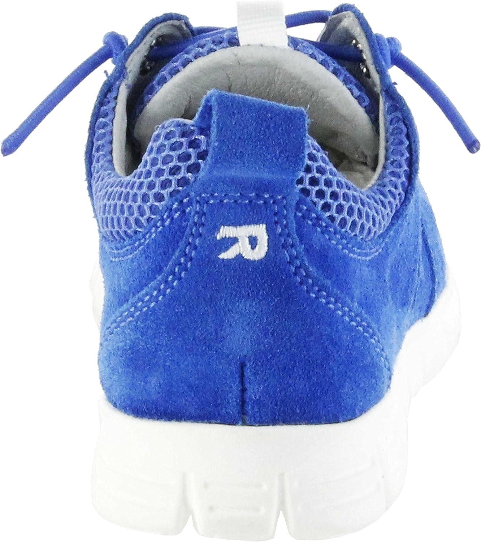 Richter Kinder Halbschuhe Sneaker blau Velourleder Jungen Schuhe 6622-341-6910 Lagoon Run