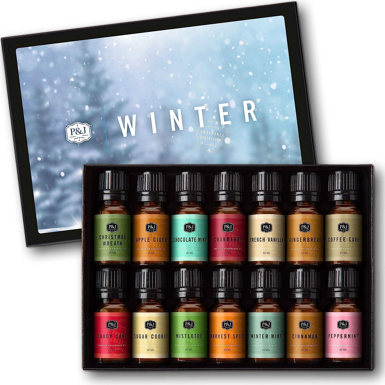 safety Winter Set of 14 Premium - Grade Fragrance Oils 10ml OFFicial shop