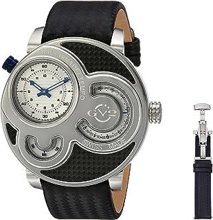 Gevril - Reloj con Movimiento Cuarzo Suizo Man Macchina del Tempo 47 mm