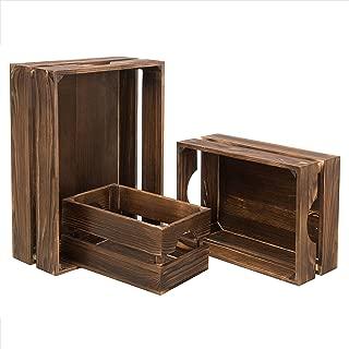 Best wooden milk crates Reviews