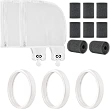 Aquabeacon Replacement Refresh Kit 3 Tires, 2 Bags, and 8 Scrubbers for Polaris 280 Pool Cleaner K13, K16