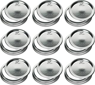 Mason Jar Wide Mouth Lids and Bands/Lot of 12