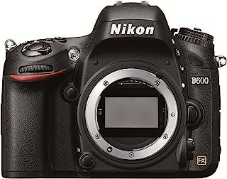 """Nikon D600 - Cámara réflex Digital de 24.3 MP (Pantalla 3"""", estabilizador óptico), Color Negro - sólo Cuerpo"""