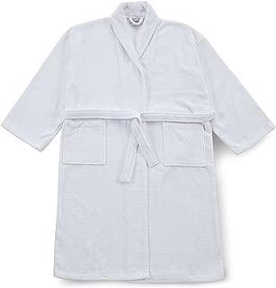 tipo kimono, talla XL, algod/ón, 400 g//m2 Albornoz color azul Buscher 20118-321-XL