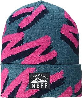قبعة صغيرة للرجال من NEFF مطبوع عليها Lawrence Jacquard