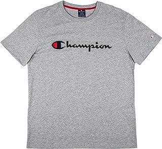 aa74fb506 Champion Crewneck T-Shirt for Men - Grey L (212070)