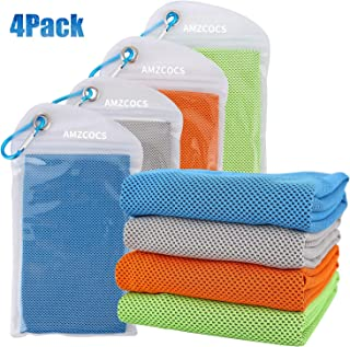 AMZCOCS Cooling Towel,Workout Towel, Cool Bowling Fitness Yoga Towel Set- 40